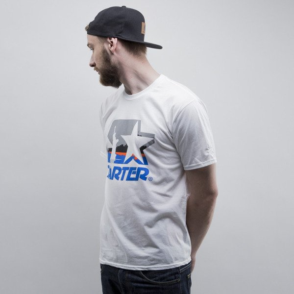 Starter t-shirt City Icon white/royal