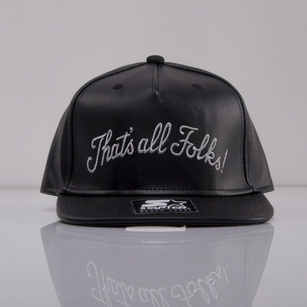Starter x Looney Tunes cap snapback All Folks Script black LT010