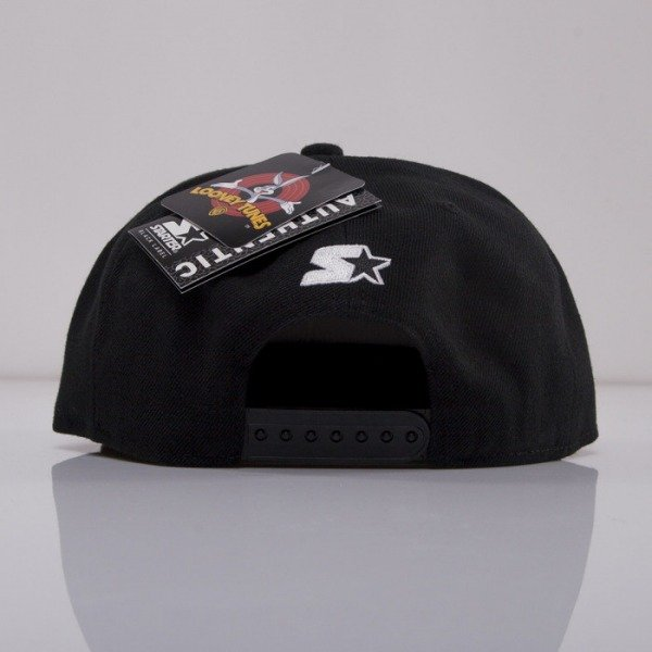 Starter x Looney Tunes cap snapback Character Daffy Duck black LT005