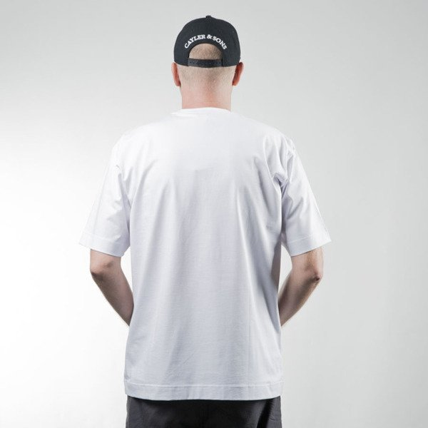 Stoprocent t-shirt Straight white