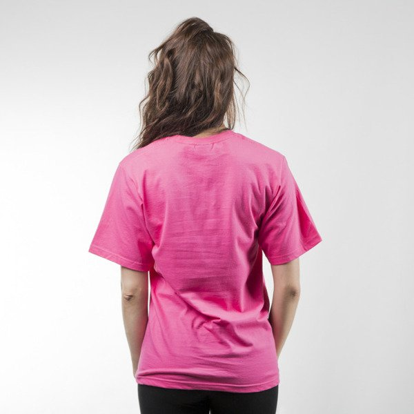 Stussy Stock T-shirt pink WMNS