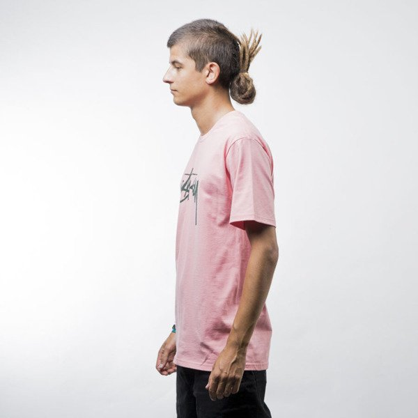 Stussy Stock Tee rose
