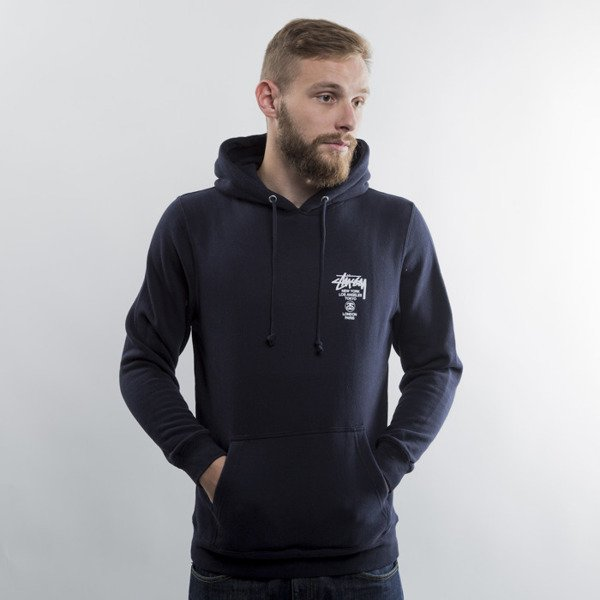 Stussy World Tour Hood navy