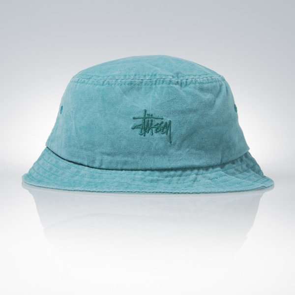 Stussy bucket hat Smooth Stock Enzyme teal