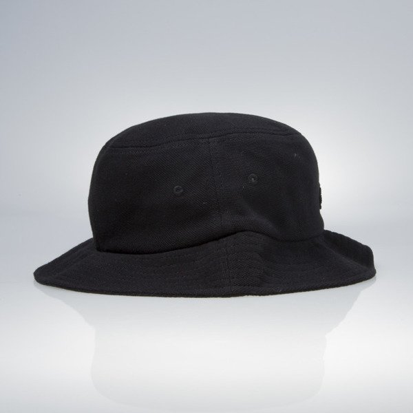 Stussy bucket hat Stock Logo Pique black