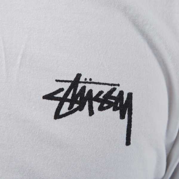 Stussy longsleeve Original Stock white