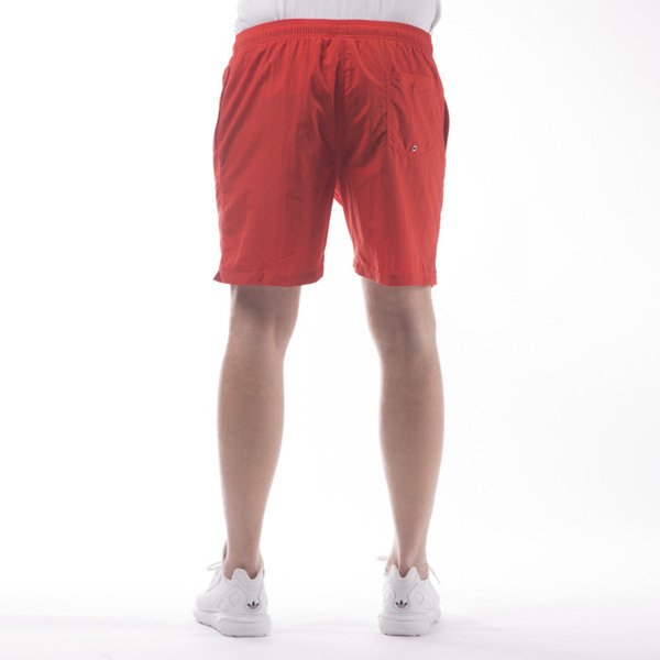 Stussy shorts Stock Elastic Waist Trunk red