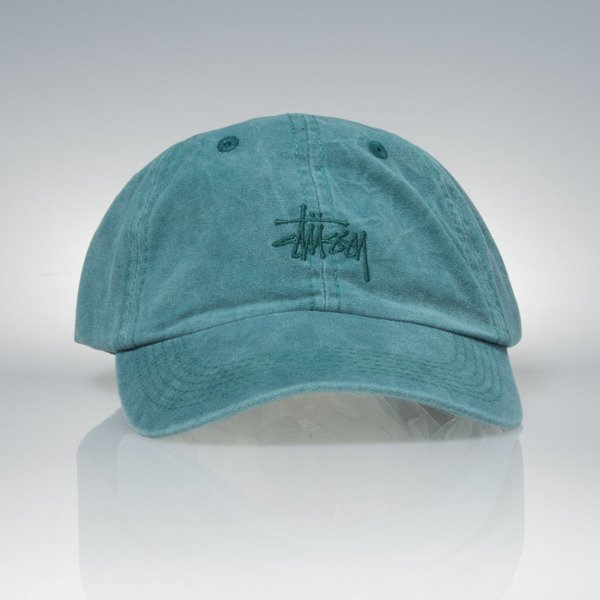 Stussy strapback Smooth Stock Enzyme teal