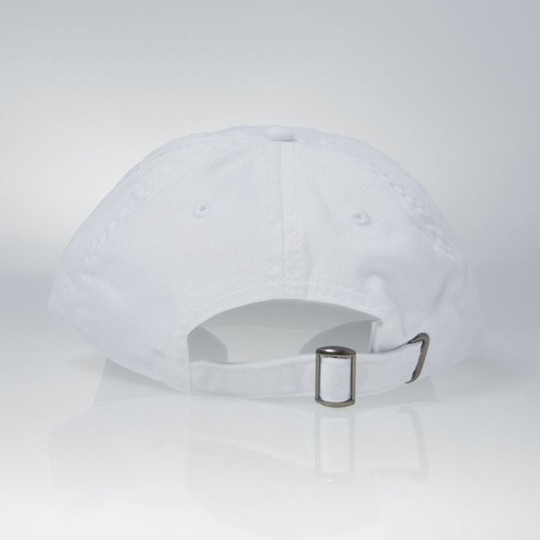 Stussy strapback Stock Low Profile white