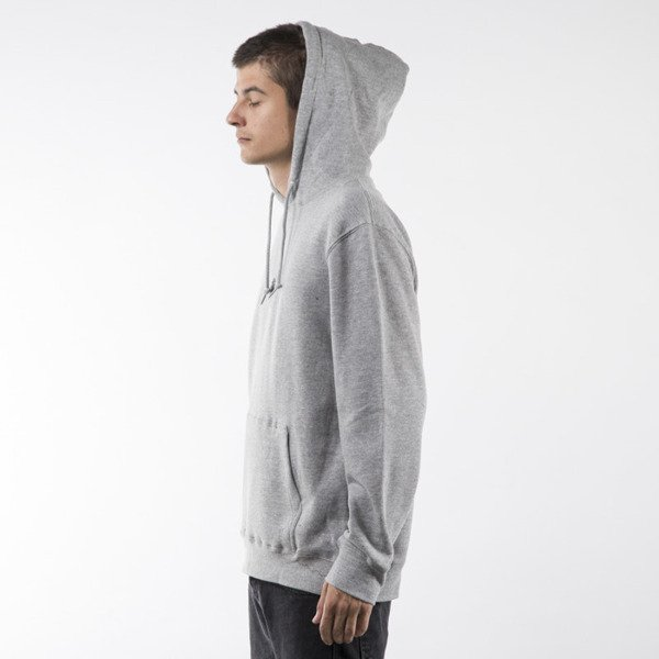Stussy sweatshirt HD Stock Hood grey heather