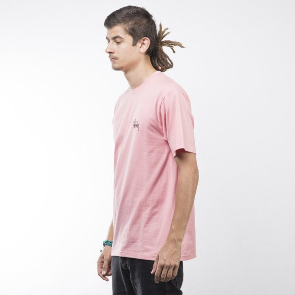 Stussy t-shirt Basic rose