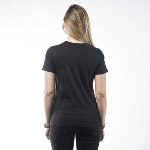 Stussy t-shirt Smooth Stock Cuffed Crew black WMNS