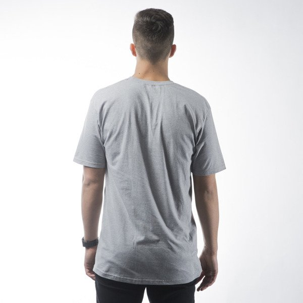 Stussy t-shirt Stock grey heather