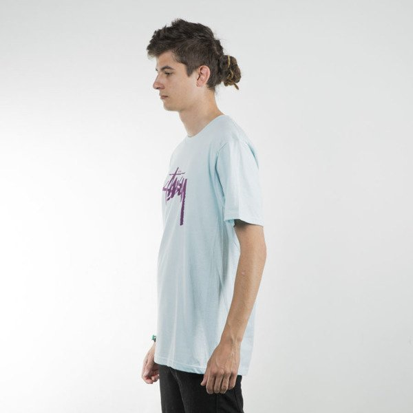 Stussy t-shirt Stock light blue SU16
