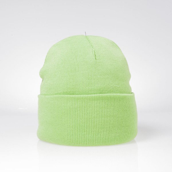 Stussy winter beanie Stock Cuff Beanie green