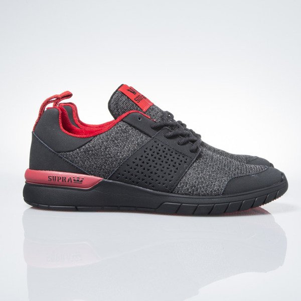 Supra Scissor black / red-black (08027-052)