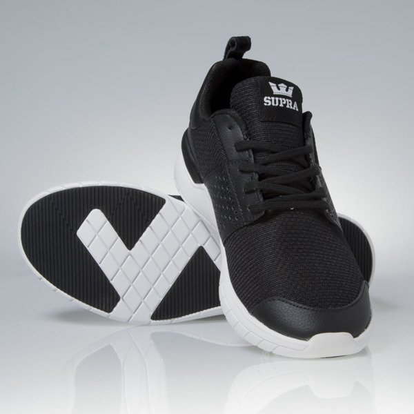 Supra sneakers Scissor black / white (08027-002)