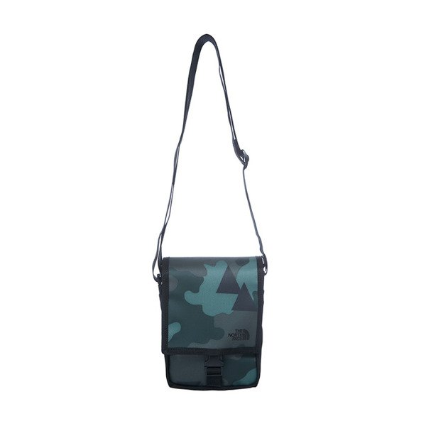 The North Face Bardu Bag camo / black T0AVAQLEC-OS