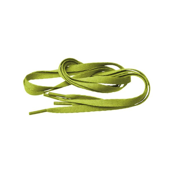 Tubelaces Silver 120cm lime 10153