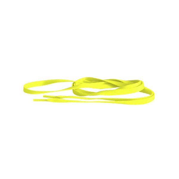 Tubelaces Silver 120cm neon yellow 10153