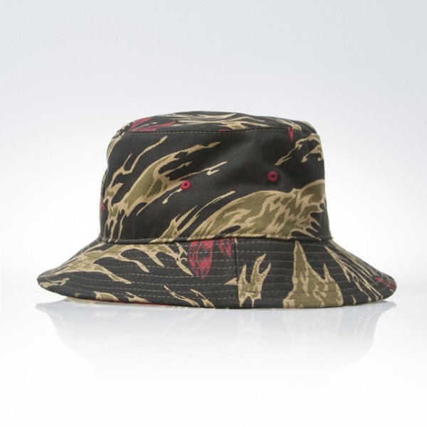 Turbokolor Bucket Hat tiger camo
