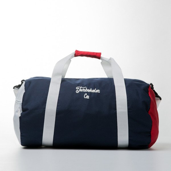 Turbokolor Duffle Bag 30L white / navy / red SS16