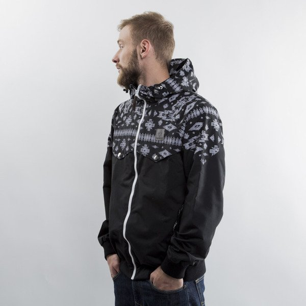 Turbokolor Ewald Jacket - Black / Aztec Print