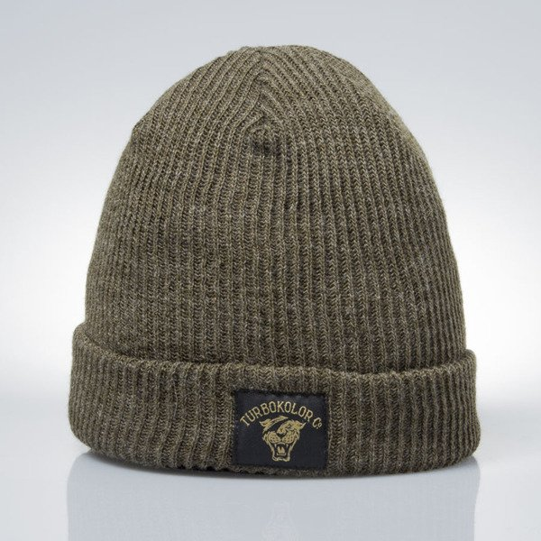 Turbokolor Fisherman Beanie olive 4247