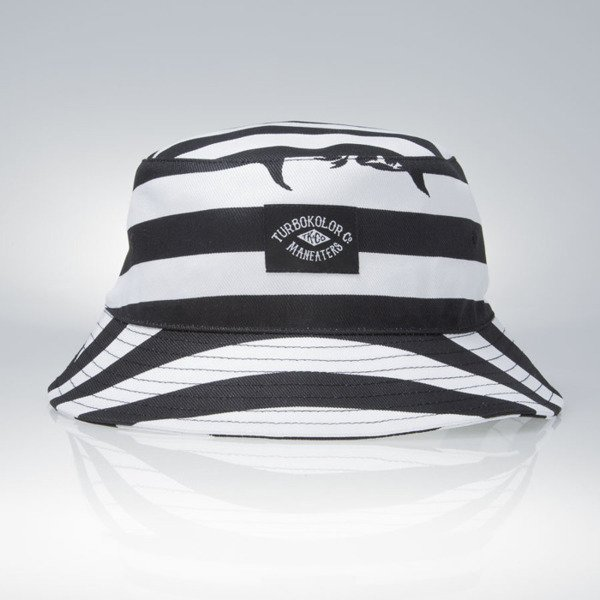 Turbokolor Maneaters Bucket Hat Sailor white / black