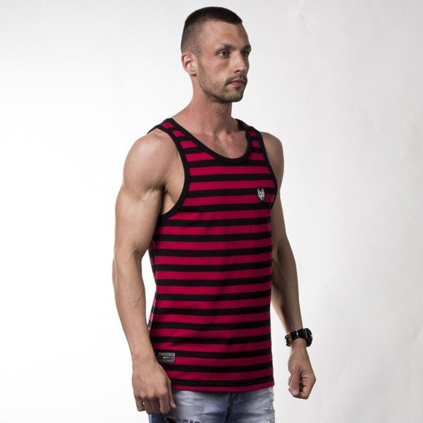 Turbokolor TNS Tanktop red / sea ss16