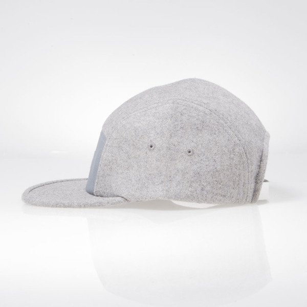 Turbokolor strapback 5Panel Pagan Hat grey
