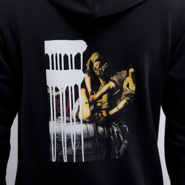 Urban Flavours sweatshirt NYC SOHO Picture Hoodie black