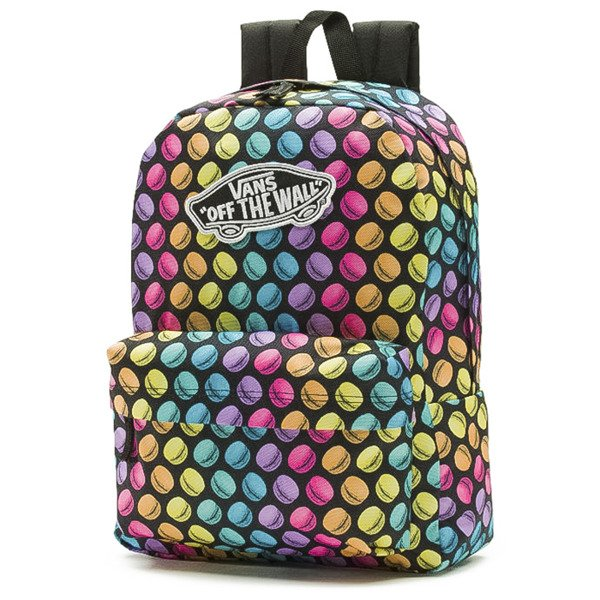 Vans Realm Backpack black / multicolor (VN000NZ0IFA)