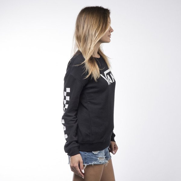 Vans sweatshirt crewneck Big Fun Crew black WMNS (VA2X98BLK)