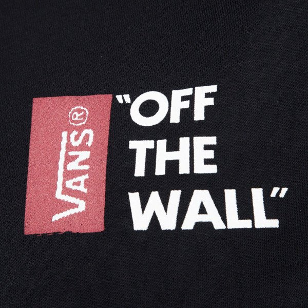 vans t shirt m vans off the wall black v5y0blk. Black Bedroom Furniture Sets. Home Design Ideas