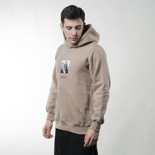 We Peace It Hoodie Nobody's Perfect beige