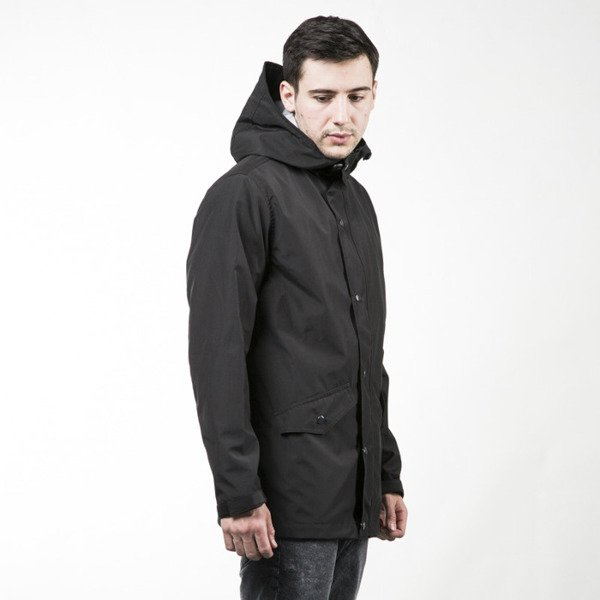 We Peace It Rain Jacket Action black