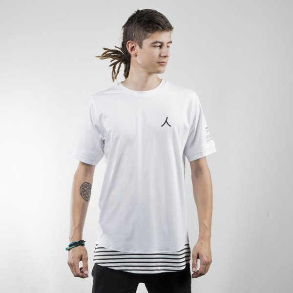 We Peace It T-shirt Action Extended white