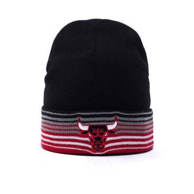 Mitchell & Ness beanie Chicago Bulls black Linear EU256
