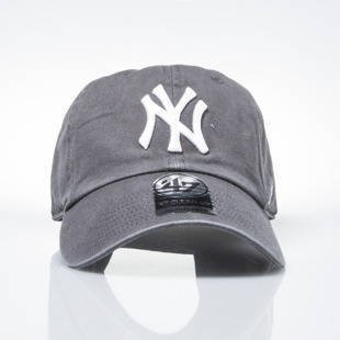 '47 Brand czapka strapback cap New York Yankees charcoal