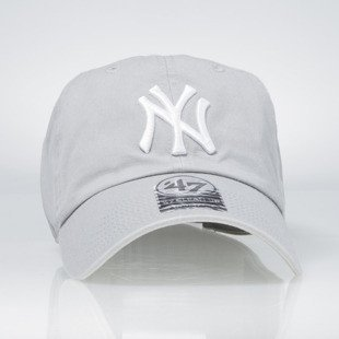 '47 Brand czapka strapback cap New York Yankees grey
