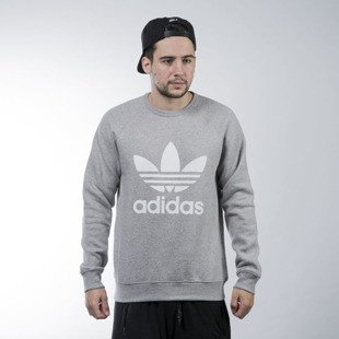 Adidas Originals bluza Trefoil Crew grey heather (AY7792)