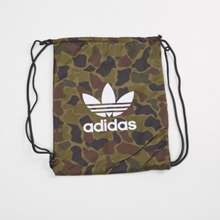 Adidas Originals worek na plecy Gymsack Camo multicolor BK7213