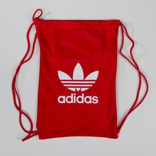 Adidas Originals worek na plecy Gymsack Tricot red (AY7806)