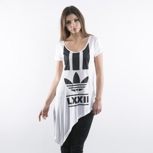 Adidas koszulka tunika  Berlin Edgy Stripes white (AB2661)