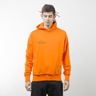 Admirable bluza hoodie Corrupted Doc orange