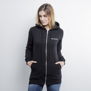 Admirable bluza sweatshirt Dead Lauren hoody zip black WMNS