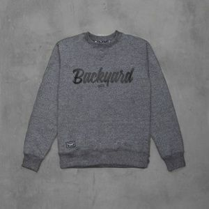 Backard Cartel bluza Neat Crew dark grey heather