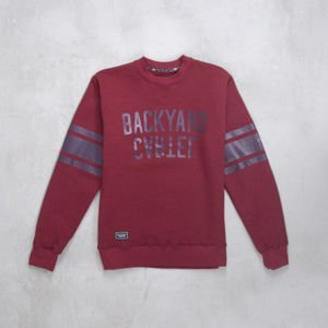 Backard Cartel bluza crewneck Back Sport claret