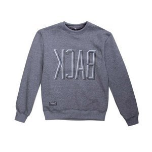 Backard Cartel bluza crewneck Form dark grey heather